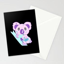 Yami Kawaii Pastel Goth Sad Koala Aesthetic Anime Gift Stationery Cards
