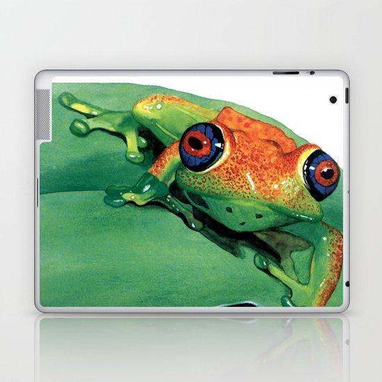 rana del madagascar Laptop & iPad Skin