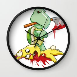 TORTOISE AND THE HARE Wall Clock