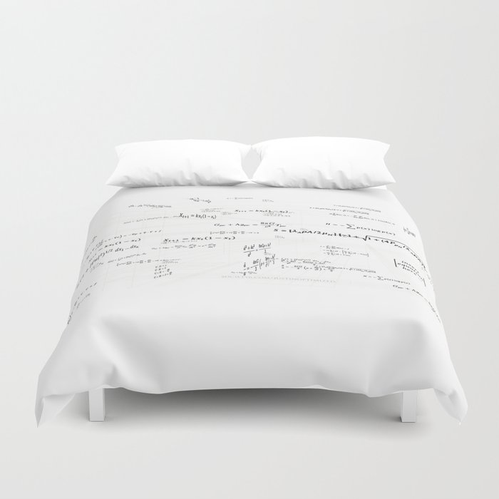 Mathspace - High Math Inspiration - Inverted Color Duvet Cover