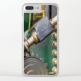 Screw Gear & Bolts Clear iPhone Case