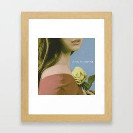 YO SOY LA PRINCESA Framed Art Print