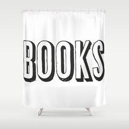Books 2 Shower Curtain