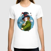 mad hatter T-shirts featuring Mad Hatter by Diogo Verissimo