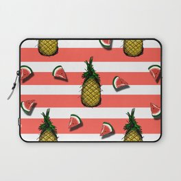 Pines and watermelons Laptop Sleeve