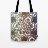 glass Tote Bags featuring GLASS by Zeno Photography