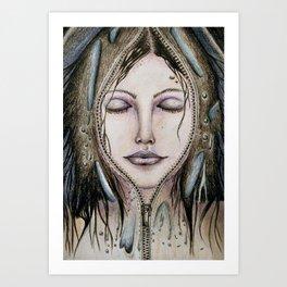 Leely (Perfect Plastic) Art Print