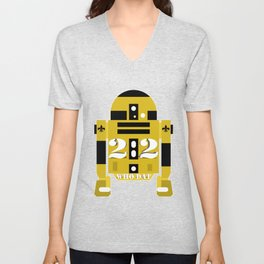 22 Robot Unisex V-Neck