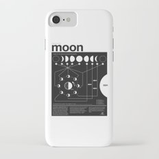 Phases of the Moon infographic iPhone 7 Slim Case