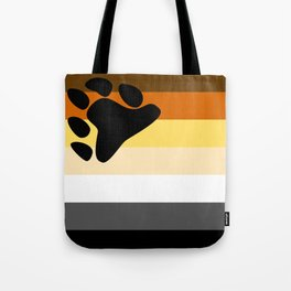 Gay Bear Brotherhood Flag Tote Bag