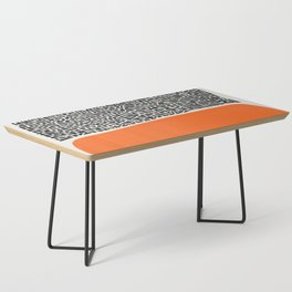 City Sunset Abstract Coffee Table