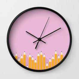 pencils.jpg Wall Clock