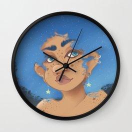 Star Child Wall Clock