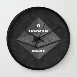 Second Sight Wall Clock