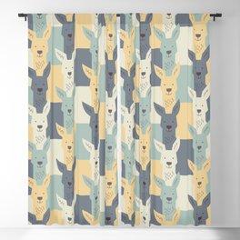 Kangaroos Blackout Curtain