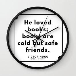 70    Victor Hugo Quotes   190830 Wall Clock