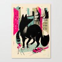 giants Canvas Prints featuring GIANTS! Fox by Pietari Posti