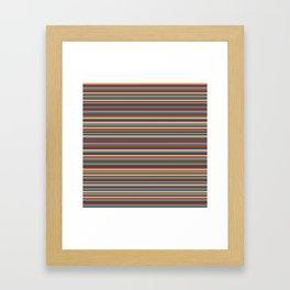Stripes, Stripes, and More Stripes Framed Art Print