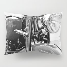 Motorcycle-B&W Pillow Sham