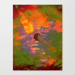 Colour on Colour on Coloursplash Canvas Print