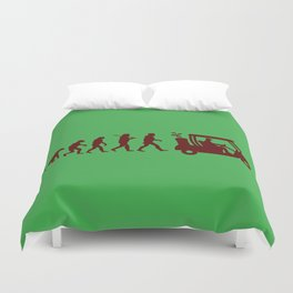 Evolution - golf Duvet Cover