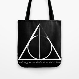 Deathly Hallows II Tote Bag