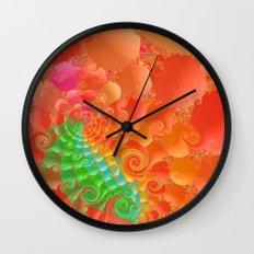 Fractal 107 Wall Clock