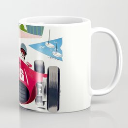 Classic Grand Prix Poster Coffee Mug