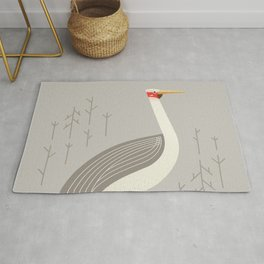 Brolga, Bird of Australia Rug