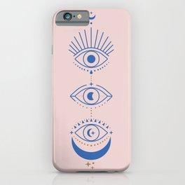 Eyes Moon Phases iPhone Case