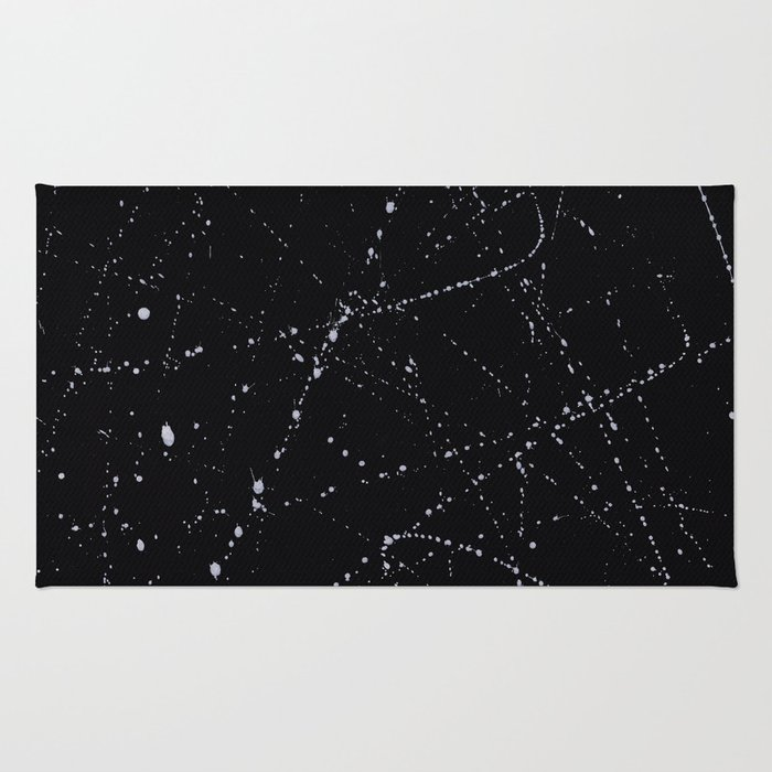 Dazed + Confused [Black] Rug