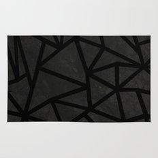 Ab Marble Zoom Black Rug