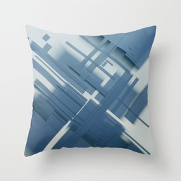 Abstract Composition 634 Throw Pillow