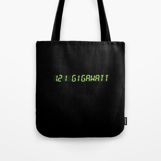 1.21 Gigawatt - Back to the future Tote Bag