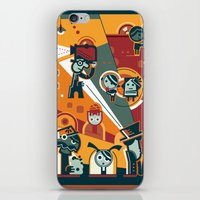 cinema iPhone & iPod Skins featuring Cinema by Petra Stefankova