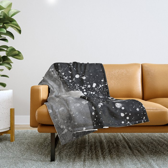 Triangle Composition IV Throw Blanket