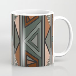 ethnic background folk africans endless pattern Coffee Mug