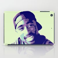 tupac iPad Cases featuring Tupac by victorygarlic - Niki