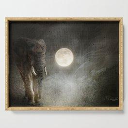Elephant Moon Serving Tray