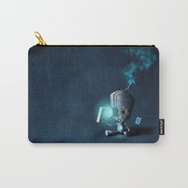 Glow Robot Carry-All Pouch