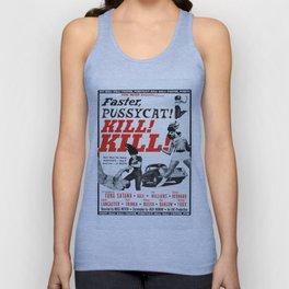 Faster, Pussycat! Kill! Kill! Unisex Tank Top