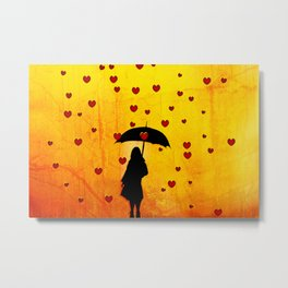 encircled Metal Print