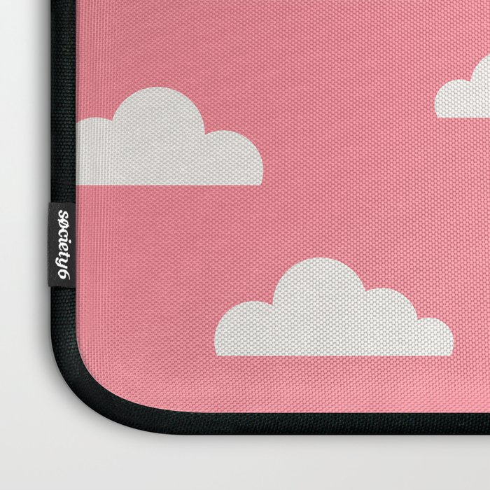 Clouds Pink Laptop Sleeve