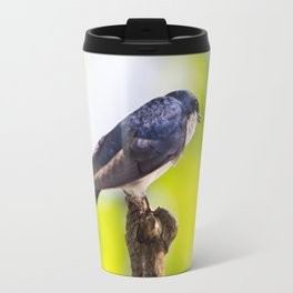 Little Blue Tree Swallow Travel Mug