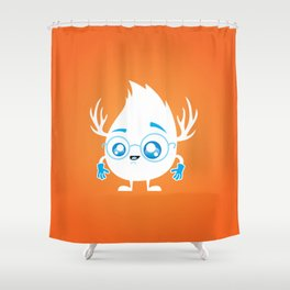 Lil' Guy Shower Curtain