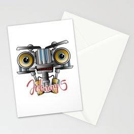 Johnny 5 Short Circuit Stationery Cards