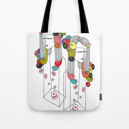 Sisters in a bottle Tote Bag