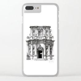Chiesa di Santa Chiara - Lecce Clear iPhone Case
