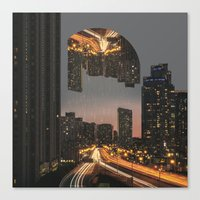 witchoria Canvas Prints featuring Fever Dream by witchoria