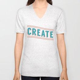 Create Unisex V-Neck